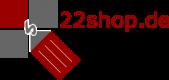 Logo - 22shop.de - 250px - transparent